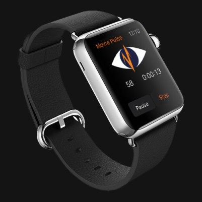 Movie Pulse on the Apple Watch