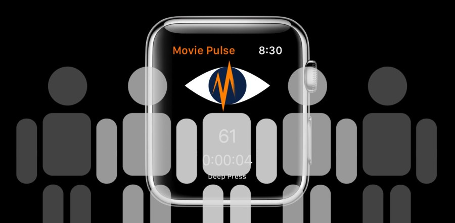 Apple Watch Bezel with shapes of figures